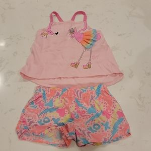 Girls Flamingo Outfit